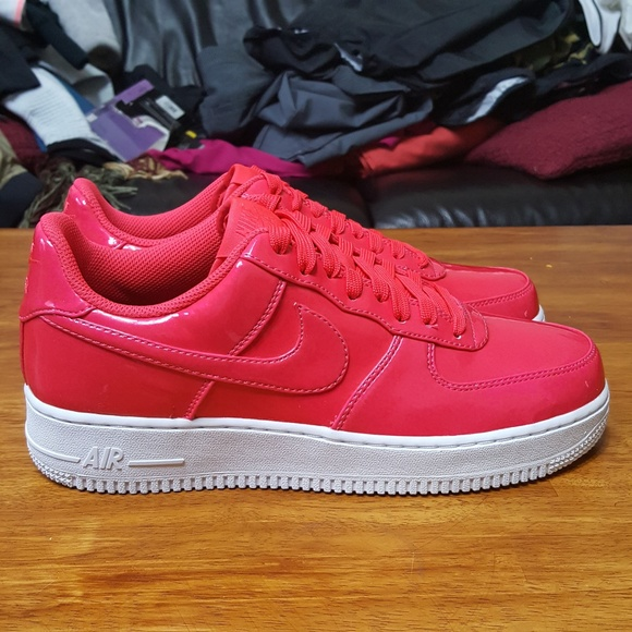 Nike Air Force 1 LV8 UV Low Siren Red Pink AJ9505 NWT